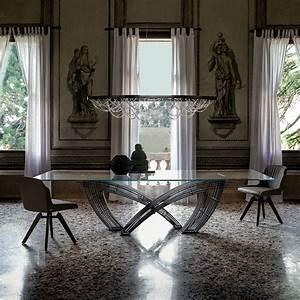 Glas Esstisch HYSTRIX Von Cattelan Italia Die Wohn Galerie