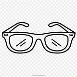 Sunglasses Coloring Drawing Glasses Favpng Displaying Teachers Printable Source sketch template