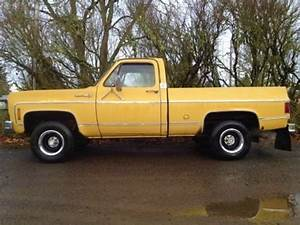 Rare 1973 Chevy K10 Short Bed Pickup Truck 4x4 W  350 4bbl