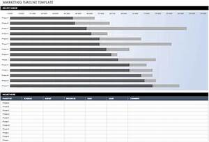 Excel Timeline Chart Template Free Free Marketing Plan Templates For Excel Smartsheet