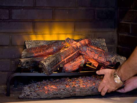 electric fireplace logs dimplex 28 inch premium electric fireplace insert log set