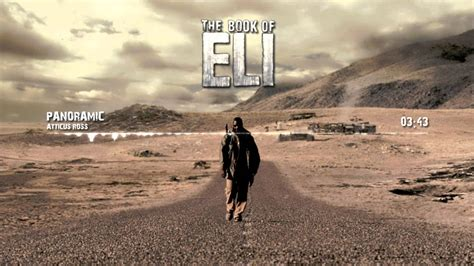 book  eli soundtrack panoramic  atticus ross