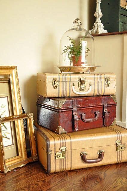 best 25 vintage suitcase decor ideas on