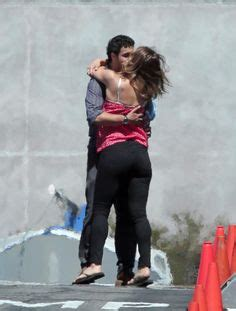 Katharine Mcphee And Elyes Gabel Passionately Kiss In The