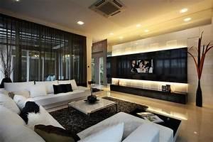 Deco Moderne Salon : d co salon d coration salon moderne id e originale leading inspiration ~ Teatrodelosmanantiales.com Idées de Décoration