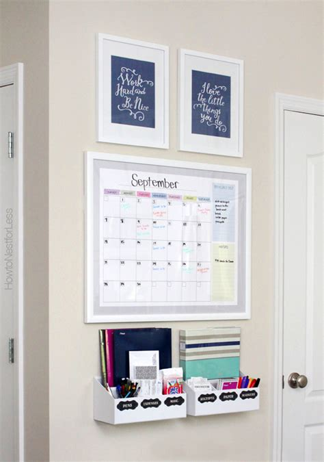 kitchen calendar organizer top 10 family command centers to organize your the 3307