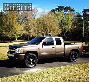 Wheel Offset 2007 Chevrolet Silverado 1500 Nearly Flush