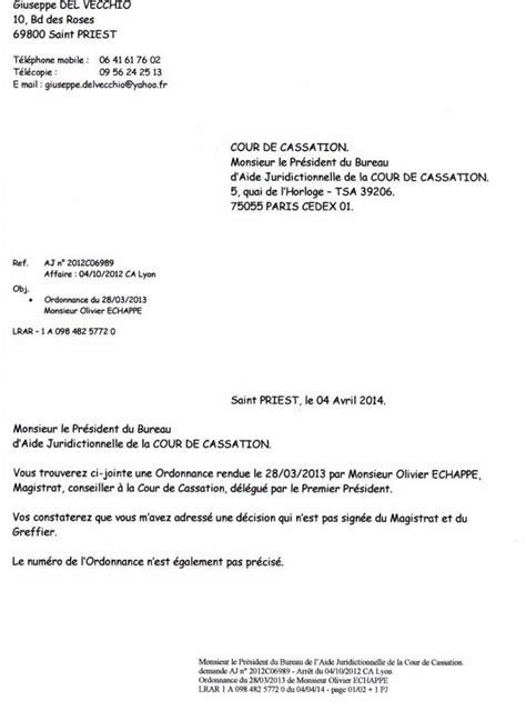 bureau aide juridictionnelle cour de cassation monsieur le président du bureau d 39 aide