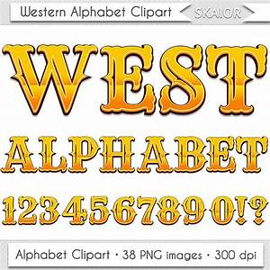 western alphabet clipart wild west letters clipart With western alphabet letter art