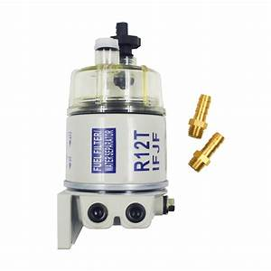 R12t Fuel   Water Separator Filter Diesel Engine For Racor