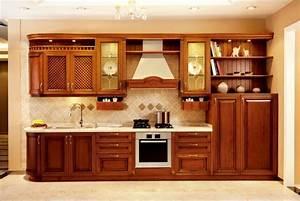 Fotos de muebles de cocina en madera - Imagui