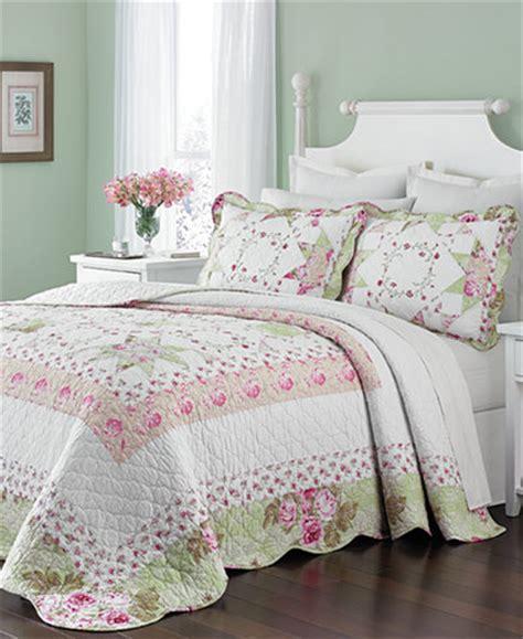 martha stewart collection emmeline full bedspread