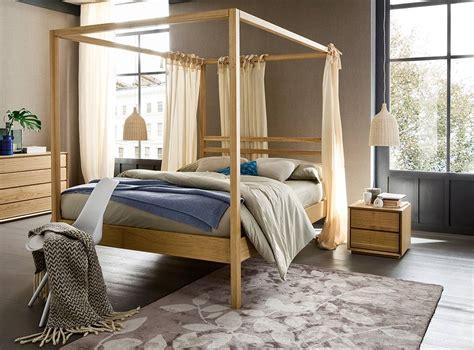 letti a baldacchino in legno nemo letto a baldacchino in legno