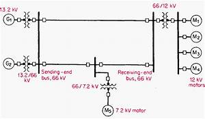 How To Calculate And Draw A Single Line Diagram For The Power System