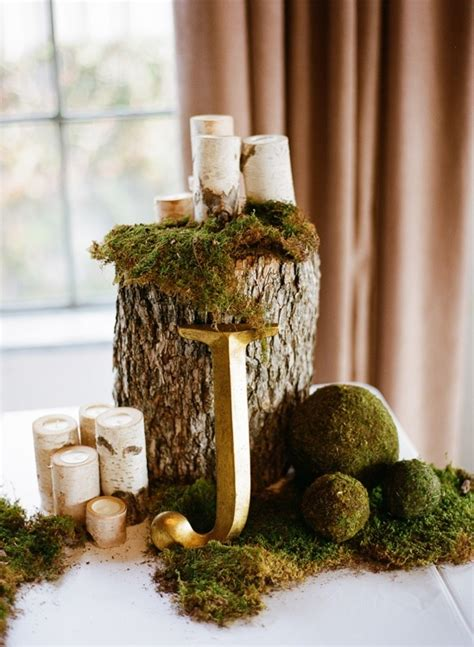 wood stump display wedding pinterest wood stumps