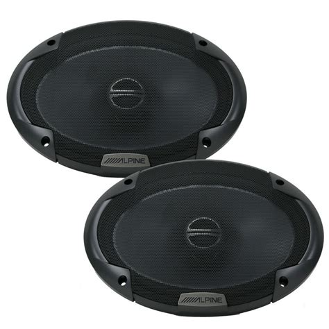 "Alpine Spe-6090 Car Audio 6""x9"" Speakers Coaxial 2-way"