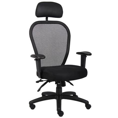 high back multi function mesh office task chair