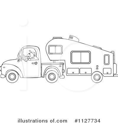 camper clipart  illustration  djart