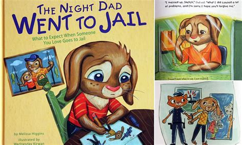 The Night Dad Went to Jail: Children's book explains what ...
