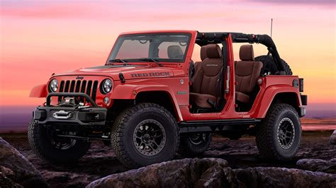 2017 Jeep Wrangler Red Rock Edition Wallpaper