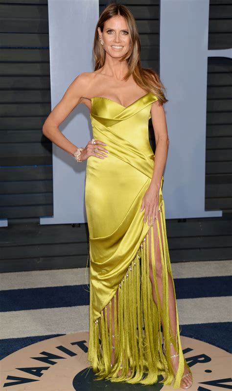 Heidi Klum Vanity Fair Oscar Party Beverly Hills