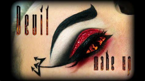 halloween sexy demon makeup tutorial ft bh cosmetics youtube