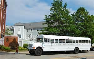 White School Bus