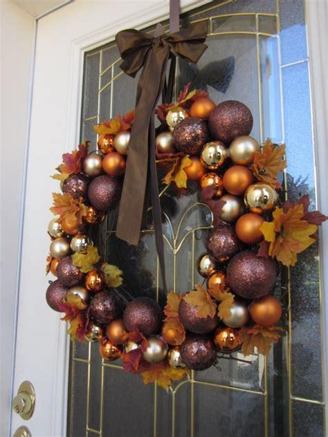 diy thanksgiving christmas wreath ideas thegoodstuff