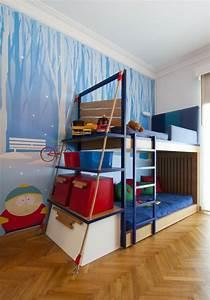 Bett Für Kinderzimmer : kinderzimmer f r jungen ideen top ~ Frokenaadalensverden.com Haus und Dekorationen