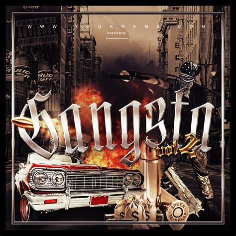 free mixtape covers templates gangsta mixtape cover template vms