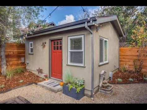 Backyard House - 250 sq ft backyard tiny guest house