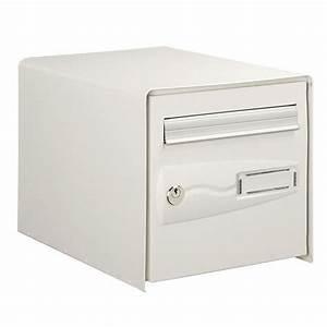 Boite à Lettre La Poste : decayeux bo te aux lettres blanche normalis e la poste une ~ Dailycaller-alerts.com Idées de Décoration