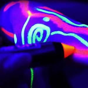 UV Neon Body Paint Pens