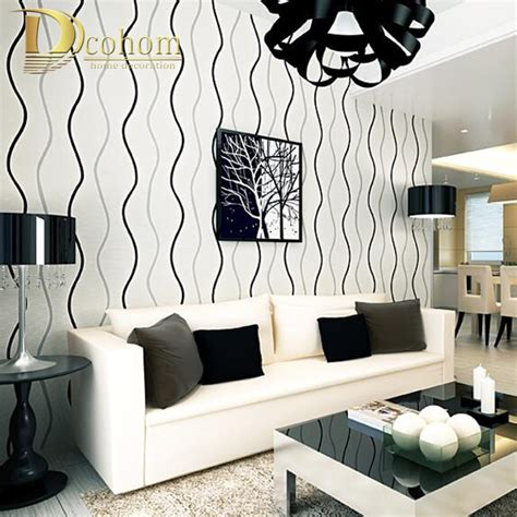 simple modern  stereoscopic wall paper bedroom living