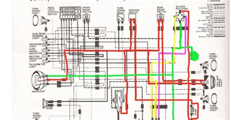 Honda Fit Wiring Harnes Diagram by R4l Honda Cb100 Wiring Chop Color Coded