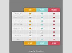 Preistabelle Vektoren, Fotos und PSD Dateien kostenloser