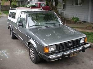 Buy Used Vw Rabbit Caddy Diesel  Biodiesel Pickup 1981 Lx
