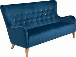 2 Sitzer Sofa Retro : max winzer 2 5 sitzer sofa melina im retrolook mit farbigen zierkn pfen breite 190 cm ~ Bigdaddyawards.com Haus und Dekorationen