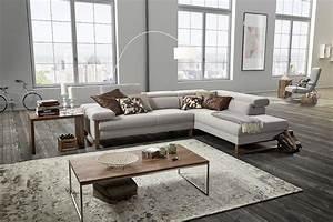 Canapé Pied Bois : canape cuir pieds bois design dreamline blog de ~ Melissatoandfro.com Idées de Décoration