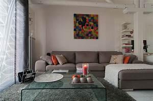 Peinture Moderne Salon : modele peinture salon moderne id e inspirante pour la conception de la maison ~ Teatrodelosmanantiales.com Idées de Décoration
