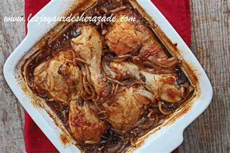 cuisine de sherazade recette de poulet braisé à l 39 anis étoilé et orange les