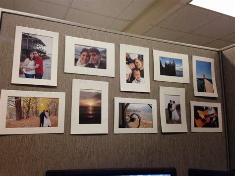 Desk Collage Frame by Cubicle Makeover Crafts Cubicle Makeover Cubicle