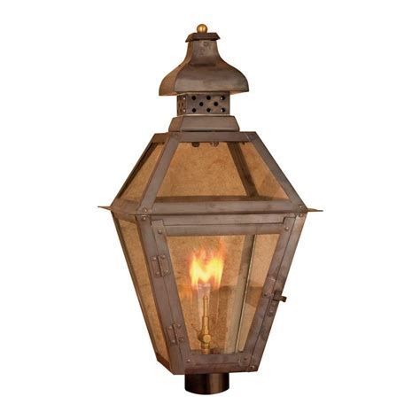 titan lighting maryville 26 in outdoor washed pewter gas