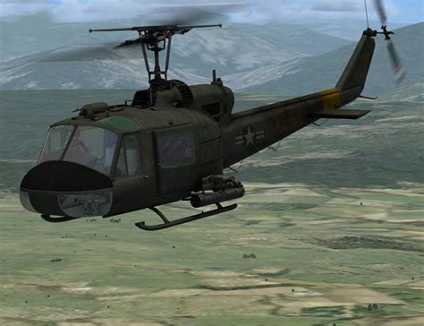Bell Uh-1 Huey Fsx - Helicopter Fsx - Fsx Add-ons - by ...