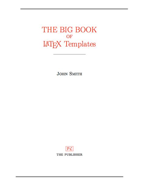 title page template templates 187 title pages