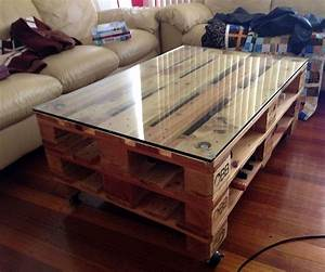 Plateau Deco Design : table basse palette deco design 5 super d co ~ Teatrodelosmanantiales.com Idées de Décoration