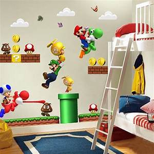 nintendo bedroom decor coma frique studio 178423d1776b With inspiring nintendo wall decals for kids room