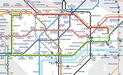 Carte Métro 2018 by Carte Londres Metro Carte 2018