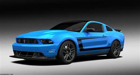 2012 Ford Mustang Grabber Blue Boss 302 Laguna Seca