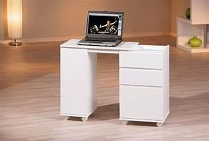 Schreibtisch Kleine Räume : laptop office schreibtisch wei 3 schubl den 1 t r rollbar ~ Sanjose-hotels-ca.com Haus und Dekorationen
